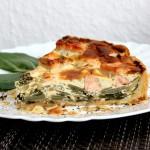Lachs-Mangold-Quiche